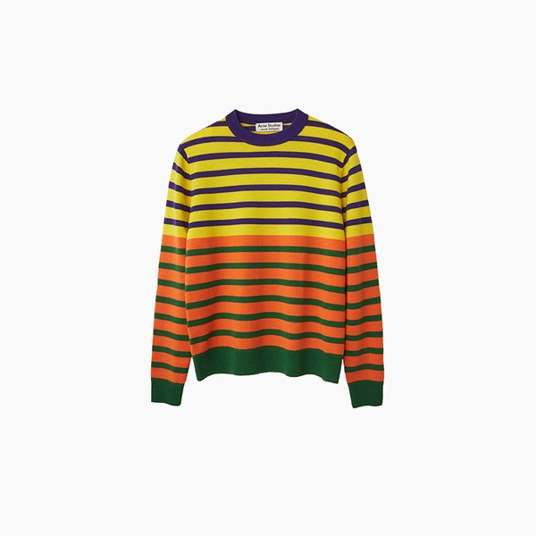 Jacob Dahlgren x Acne Studios Striped Capsule
