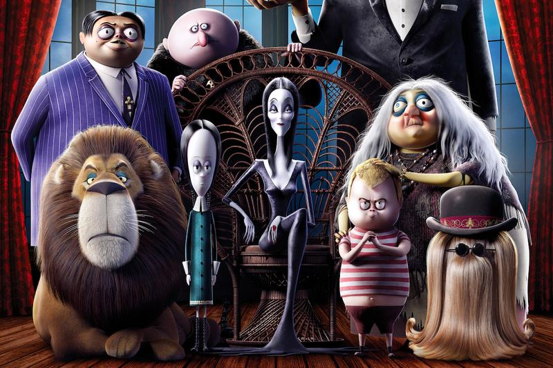 Addams Family Mansion Halloween Booking animated movie film spooky scary haunted house holiday