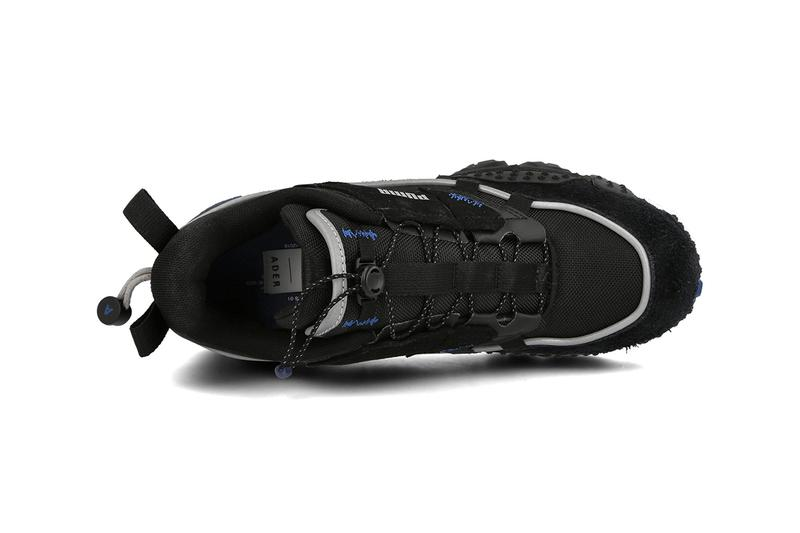 "ADER error x PUMA Trailfox Overland Release Information Closer Look Collaboration Footwear Sneaker Drops Fall/Winter 2019 FW19 Trail Running ""Puma Black"""
