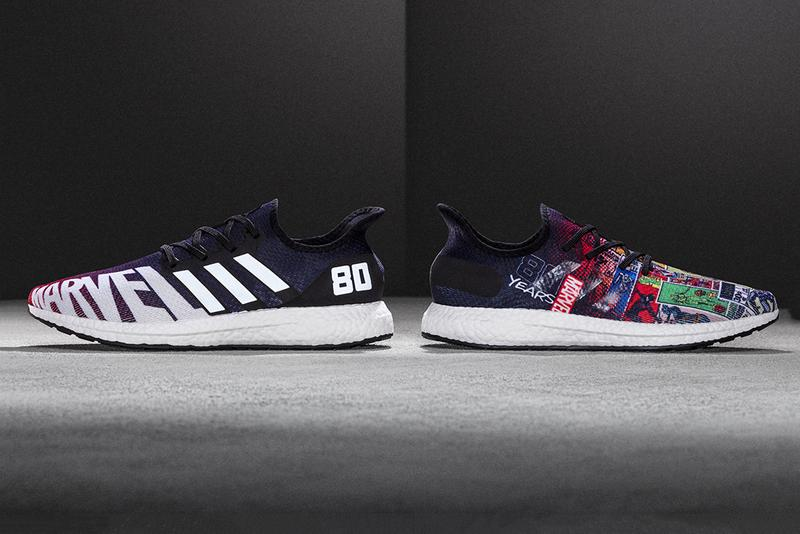 "Foot Locker x Marvel x Adidas AM4 ""80th Anniversary"" release collaborations sneakers new york comic con nycc exclusive AM4 Marvel 80 Vol. 1 and Marvel 80 Vol. 2. Marvel Entertainment Chief Creative Officer Joe Quesada"