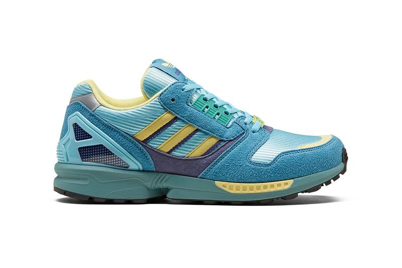 adidas Consortium ZX 8000 Release Information Re-Release 2014 Torsion Equipment Three Stripes OG Shoe Sneaker Trainer German Monza Colorway 1989