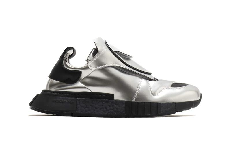 adidas originals futurepacer silver met metallic colorway release fall 2019 stretch reflective upper kangaroo leather overlay  drop date