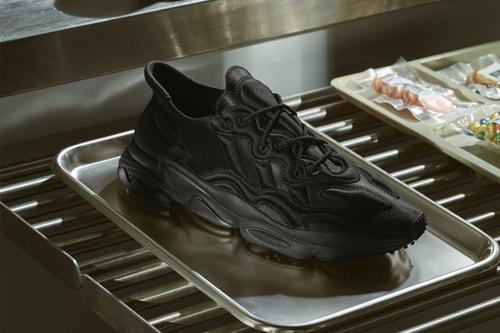 "adidas Originals Introduces Ozweego Tech in Shiny ""Core Black"" & ""Grey Four"""
