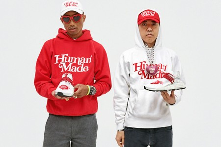 Pharrell and NIGO Deliver Three Collaborative HUMAN MADE x adidas Hu Sneakers