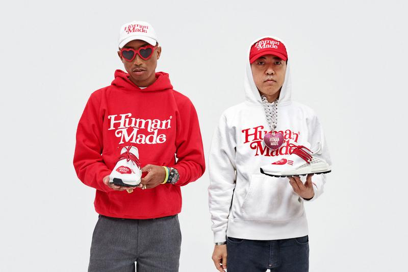 adidas Originals Pharrell Hu x HUMAN MADE Collaboration sneakers release date info october 5 2019 buy colorway sneaker shoes nigo