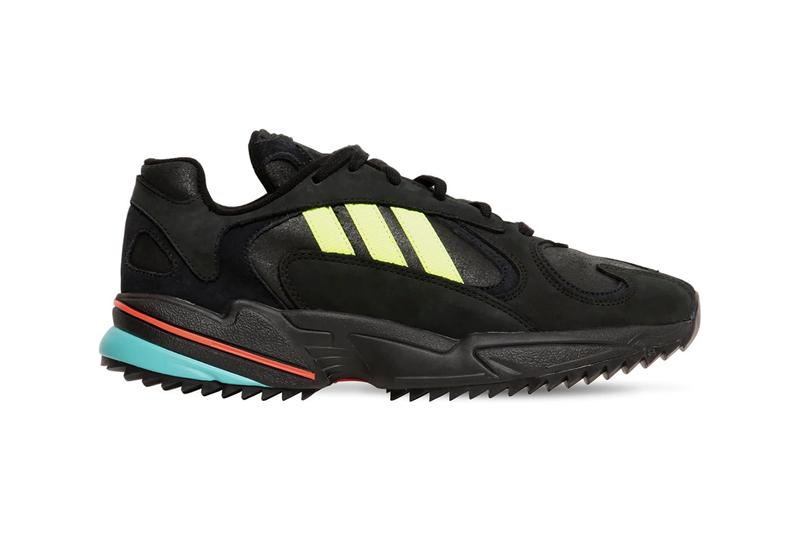 "adidas Originals Yung-1 Trail First Look & Release Information Fall Winter 2019 Footwear Tactical Kicks Three Stripes Weather ""Core Black/Solar Yellow"" Torsion Sole Unit"