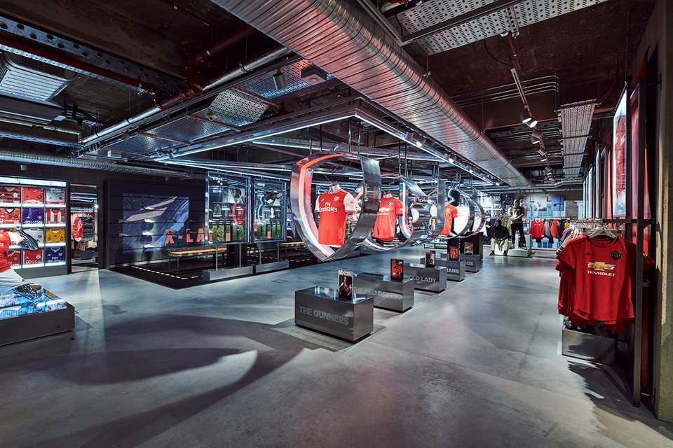 A Look Inside adidas' New Digitally-Enhanced London Flagship Store