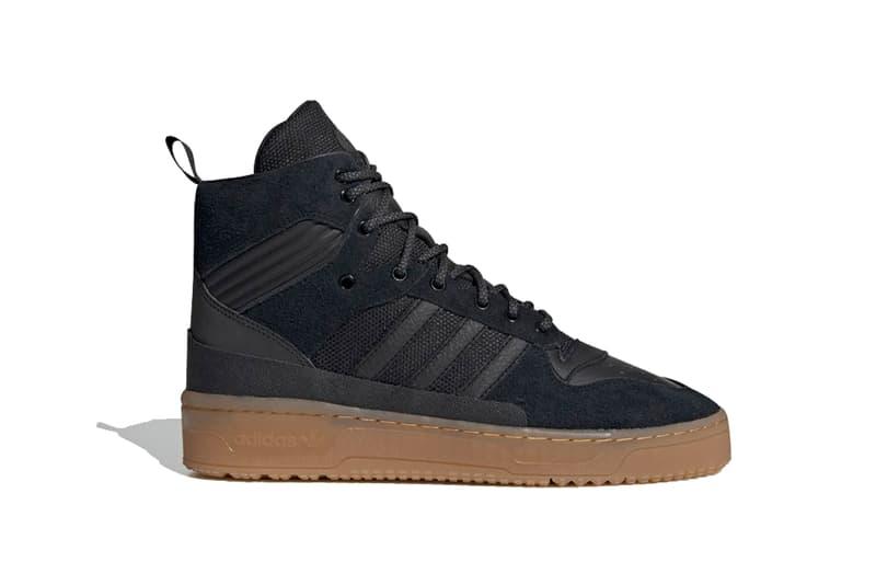 adidas winterized rivalry tr shoes nubuck black sneaker mens winter boot