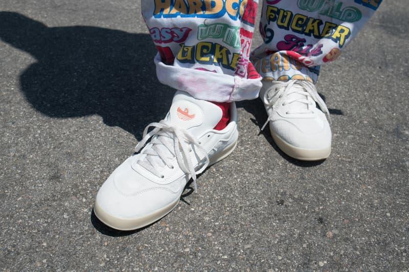mark gonzales adidas skateboarding aloha super wallenberg ollie black white tan peach pink eh3415 blind skateboards video days