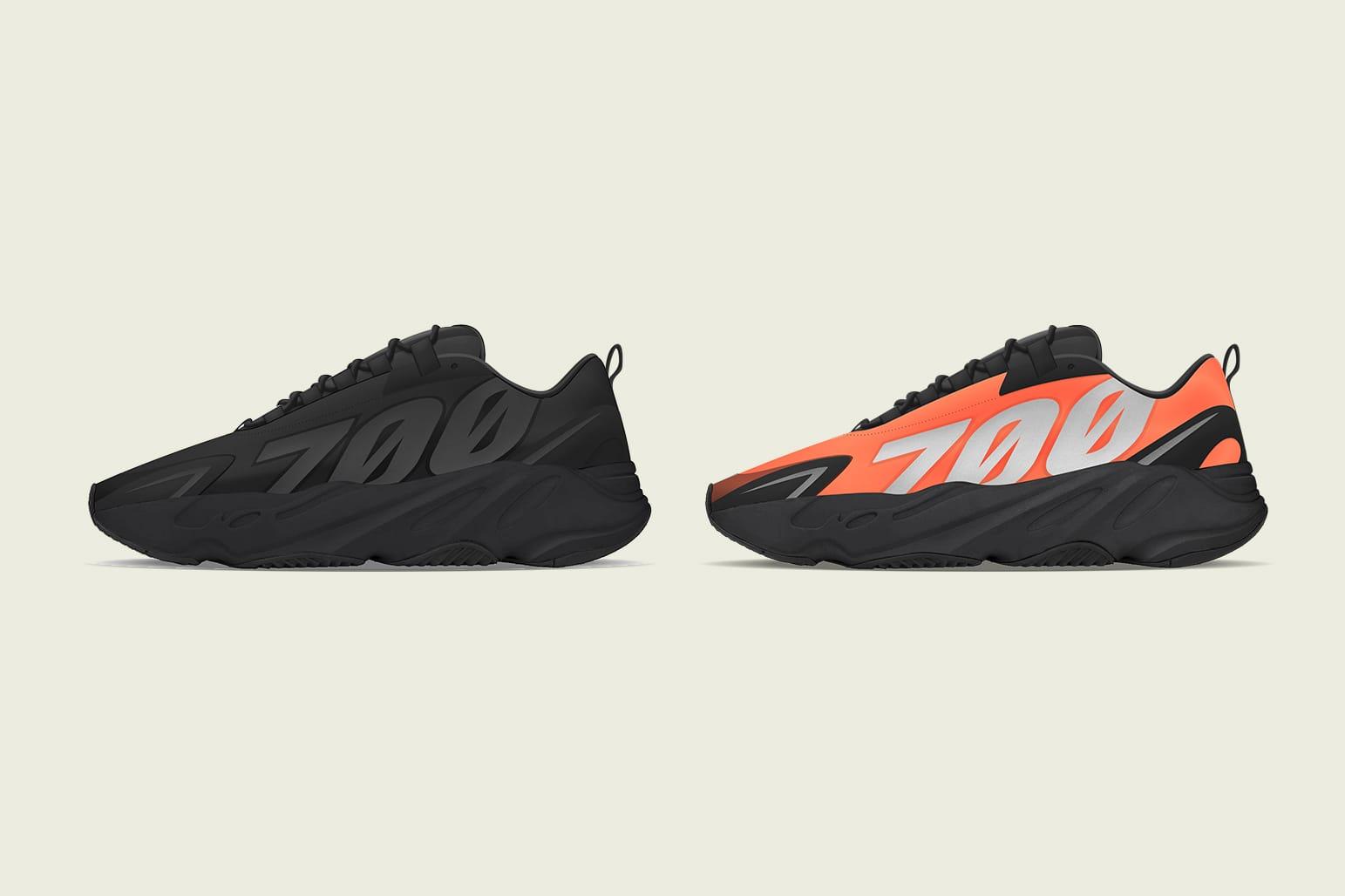 black yeezy 700s