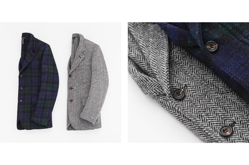 aime leon dore drakes fall winter 2019 capsule collection release london tailoring company new york based terry garments streetwear sweatpants blazers luxury fabrics wool tweed silk cotton