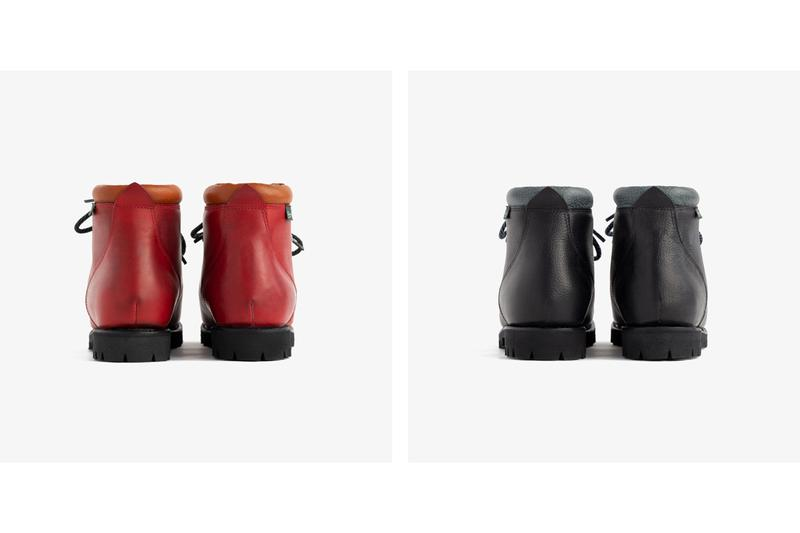 Aimé Leon Dore Paraboot Avoriaz Boot Red Black Leather Calfskin