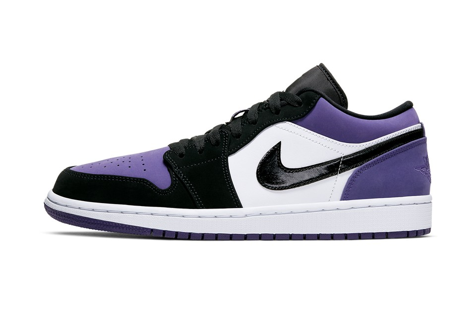 "The Air Jordan 1 Low Arrives in ""Court Purple"""