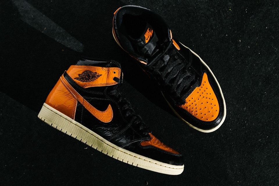 "Cop the Full Collection of Air Jordan 1 Retro High OG ""Shattered Backboard"" Sneakers"
