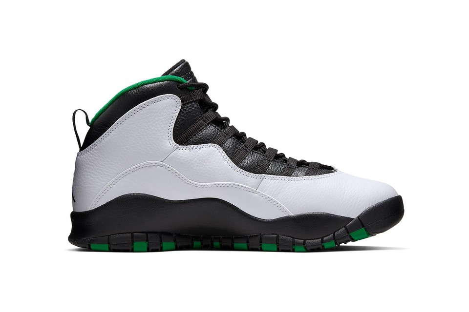 "Pay Tribute to the SuperSonics With the Air Jordan 10 ""Seattle"""