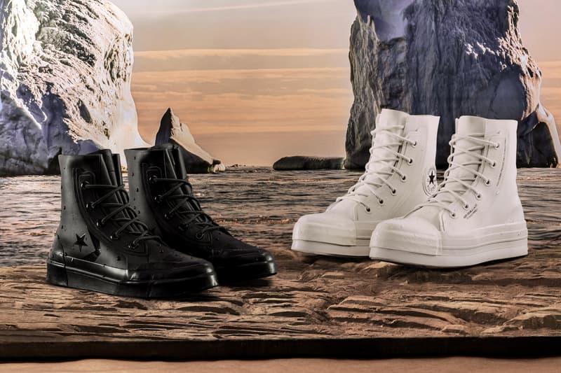AMBUSH Converse Chuck 70 Pro Leather Release Black White Yoon Ahn