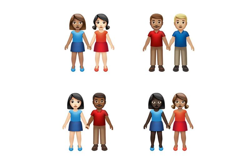 Apple Just Dropped Gender-Neutral & Inclusive Emoji iOS 13.2 tech smartphones couples families sloth waffle disabilities