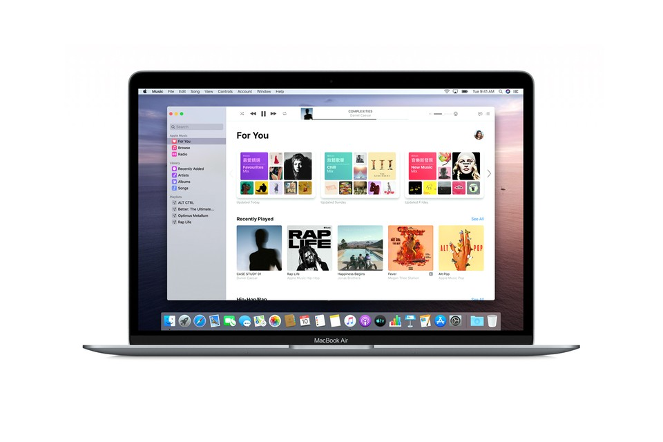 """Apple's macOS Catalina Update Marks Official """"Death"""" of iTunes"""