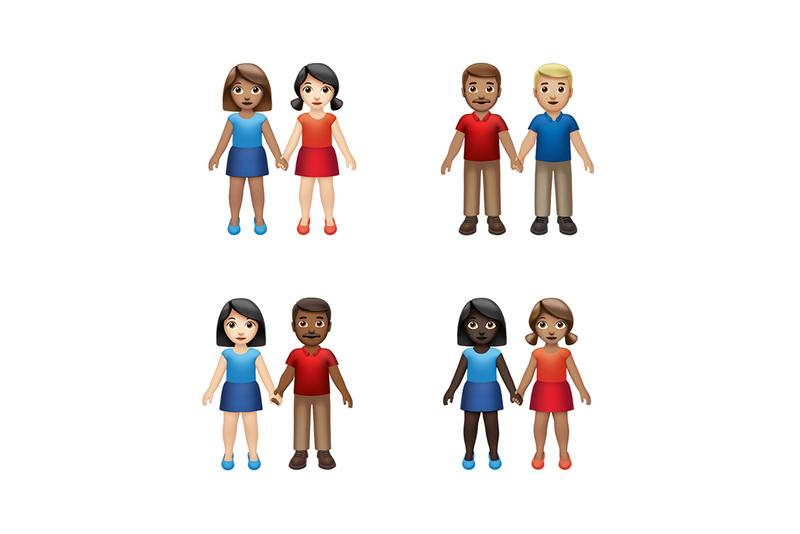 Apple 230 New Emojis Focused Inclusivity Accessibility People Holding Hands Skin Tone Gender Neutral Circles Squares Pinching Hand Yawning Face