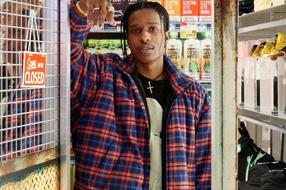 A Look Inside A$AP Rocky & AWGE's New Permanent Selfridges Space