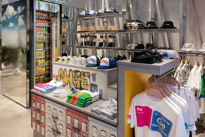 selfridges asap rocky A$ap yams awge london store look inside first buy cop purchase exclusive merch needles collaboration
