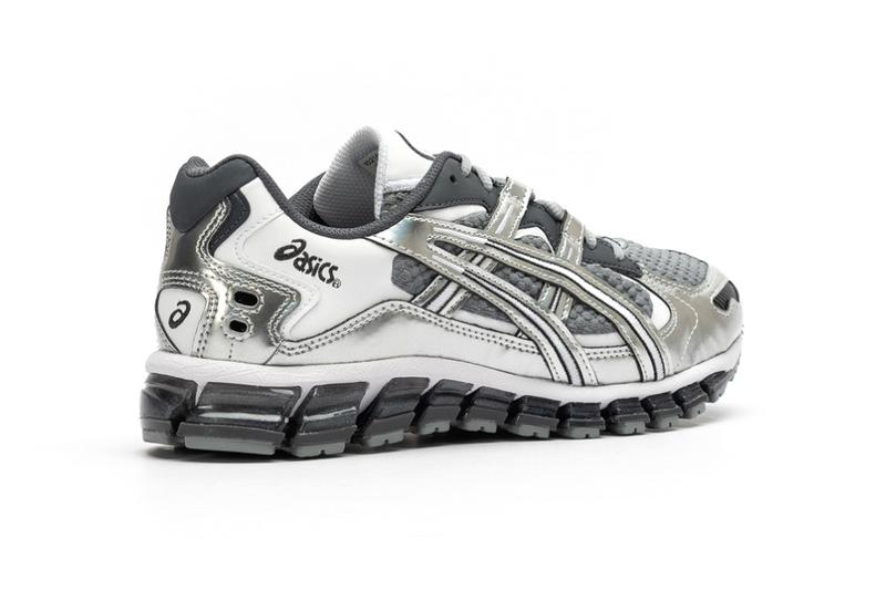 asics gel kayano 5 360 sheet rock silver grey 1021A162 020 release date info photos