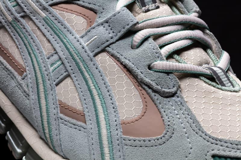 asics gel kayano 5 360 gore tex release date photos 1021a199 250 100 oatmeal lichen rock cool mist