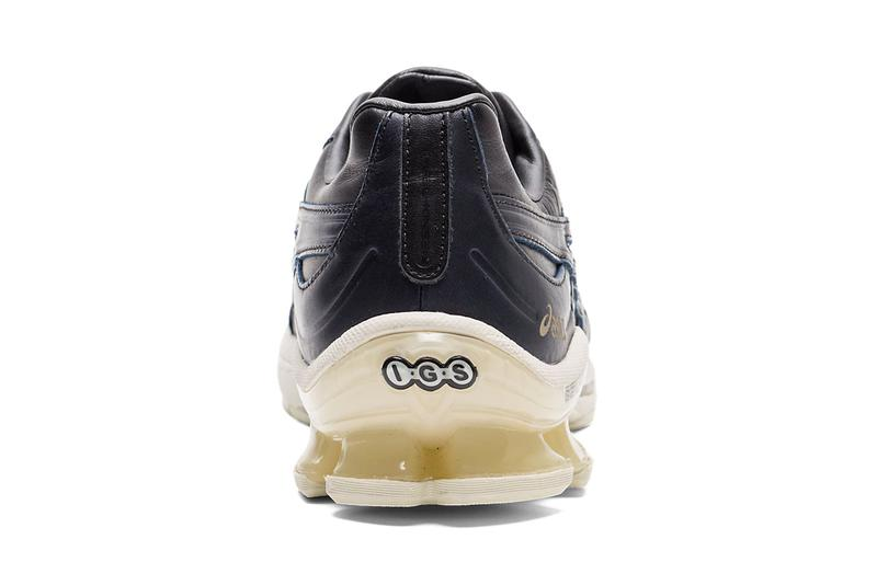 asics japan collection gel kinsei kayano 25 metarun leather navy white black