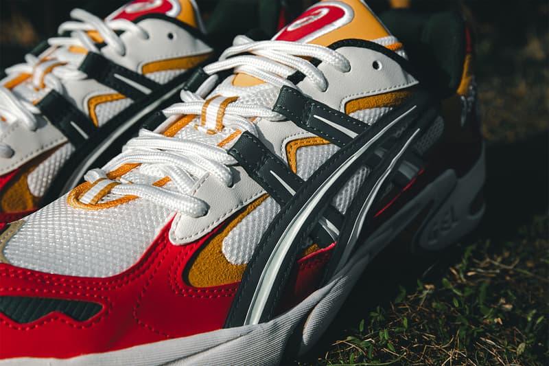 "Hundred% x SneakerLAH x ASICS ""Nasi Lemak"" GEL-Kayano 5 OG Hypebeast Closer Look Sneakers Kicks Footwear Trainers malaysia Food"