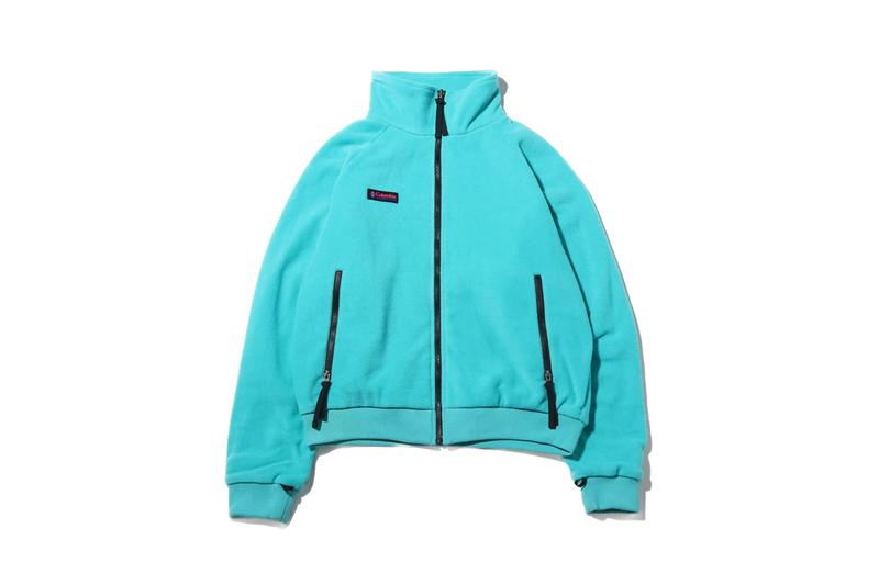 atmos lab columbia bugaboo jacket black teal outdry boot pink collaboration fall winter 2019 shoe footwear