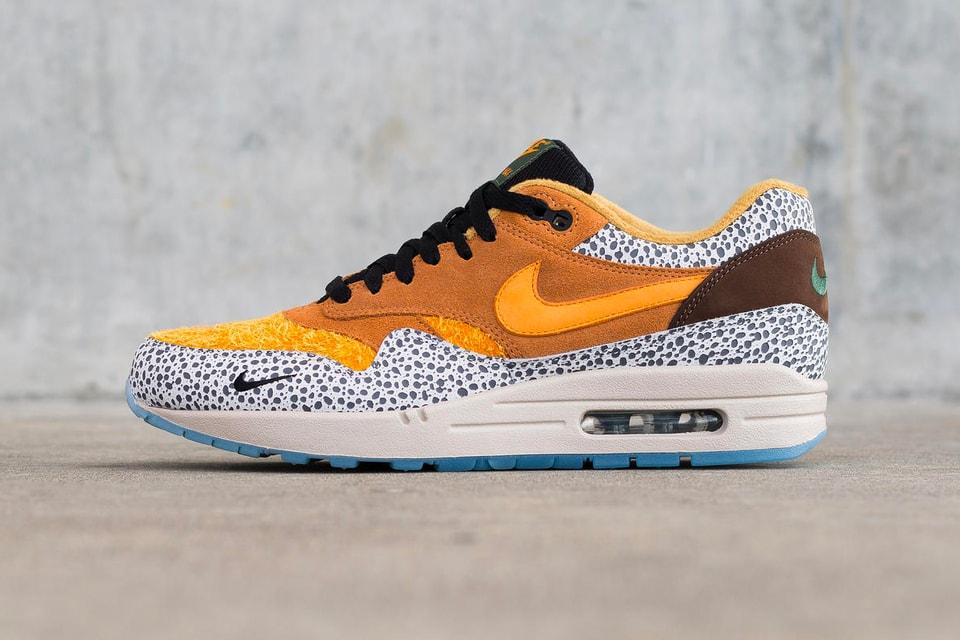 "Image of an atmos x Nike SB Dunk Low ""Safari"" Surfaces"