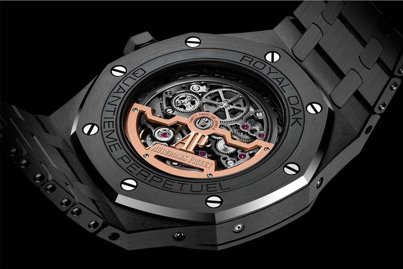 Audemars Piguet 2019 Royal Oak Perpetual Calendar Openworked Black Ceramic Release info Date Buy