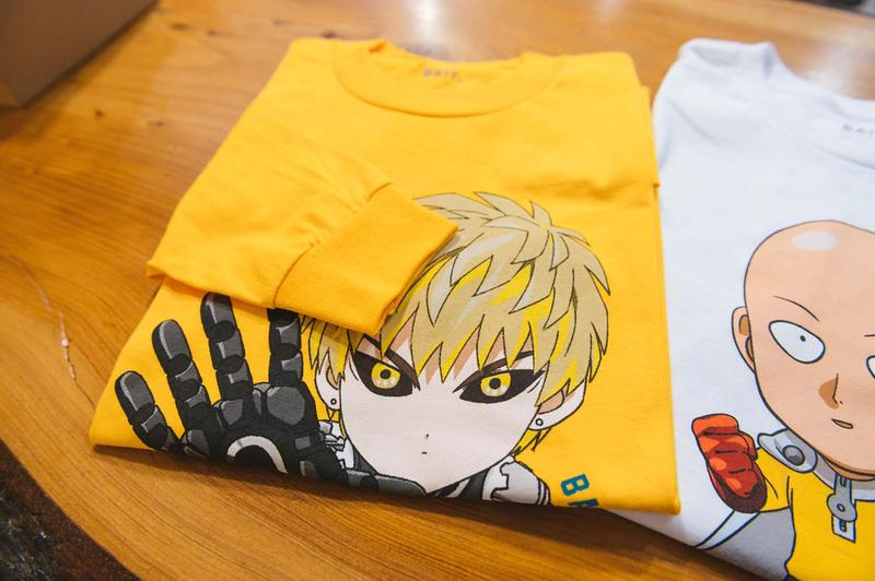 BAIT x One Punch Man Delivery 2 Lookbook
