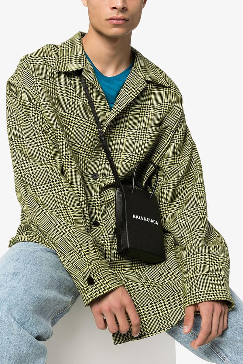Balenciaga Black Shopping Bag Phone Holder release where to buy price 2019