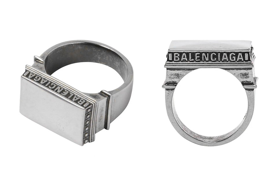 Balenciaga's Paris Arch Ring Pays Homage to the Arc de Triomphe