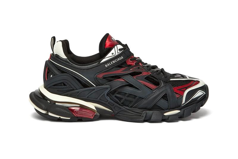 Balenciaga Track 2 Sneaker Black Red Release Hypebeast