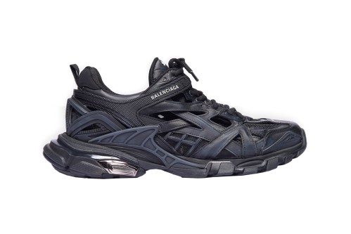 Balenciaga's Track.2 Trainers Land in Faded Black Edition
