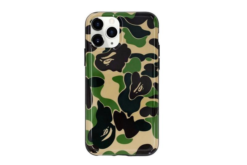 BAPE ABC CAMO iPhone 11 & iPhone 11 Pro Cases a bathing ape pink blue green ape head accessories apple tech
