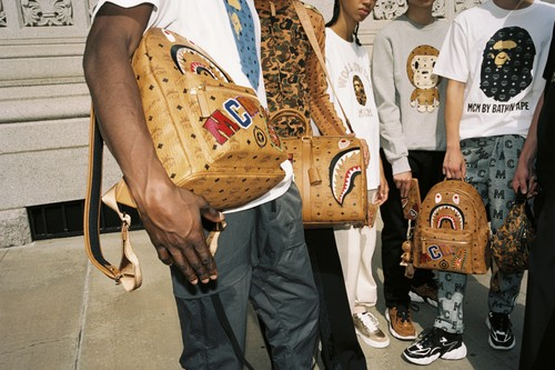BAPE & MCM Ready Graphic-Heavy Capsule for FW19