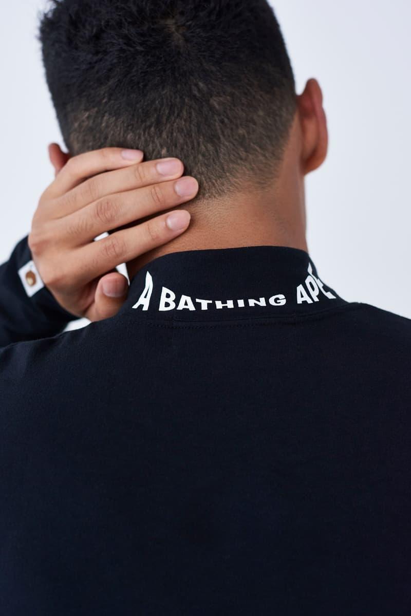 BAPE Second Formula 1 Collaboration Fall Winter 2019 f1 a bathing ape automobiles collaborations lookbooks shark hoodie