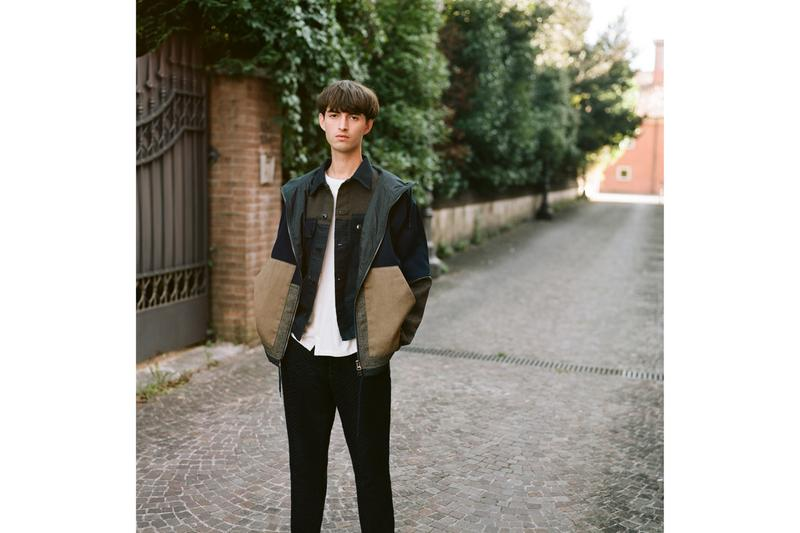 "Barena ""Archive 1993"" Collection Jackets Pants Shirts Red Stripes Blue Gray Black White Mirano Venice Coats Trousers Camouflage"