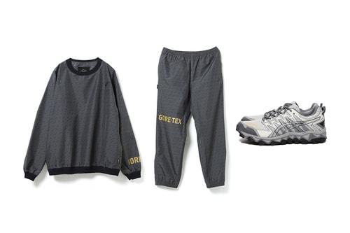 BEAMS Taps ASICS for Monochrome GORE-TEX Capsule, GEL-Fuji Sneakers