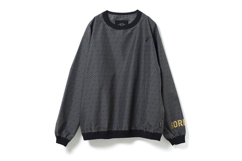 beams asics GEL-Fuji Trabuco 7 G-TX gore tex pants pullover sweater hat fall winter 2019 november release date buy colorway grey collaboration capsule clothing