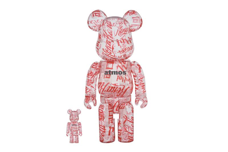 Medicom Toy atmos Coca Cola BE@RBRICK Info Drop Release Figure Design Soda Beverage Logo Japan
