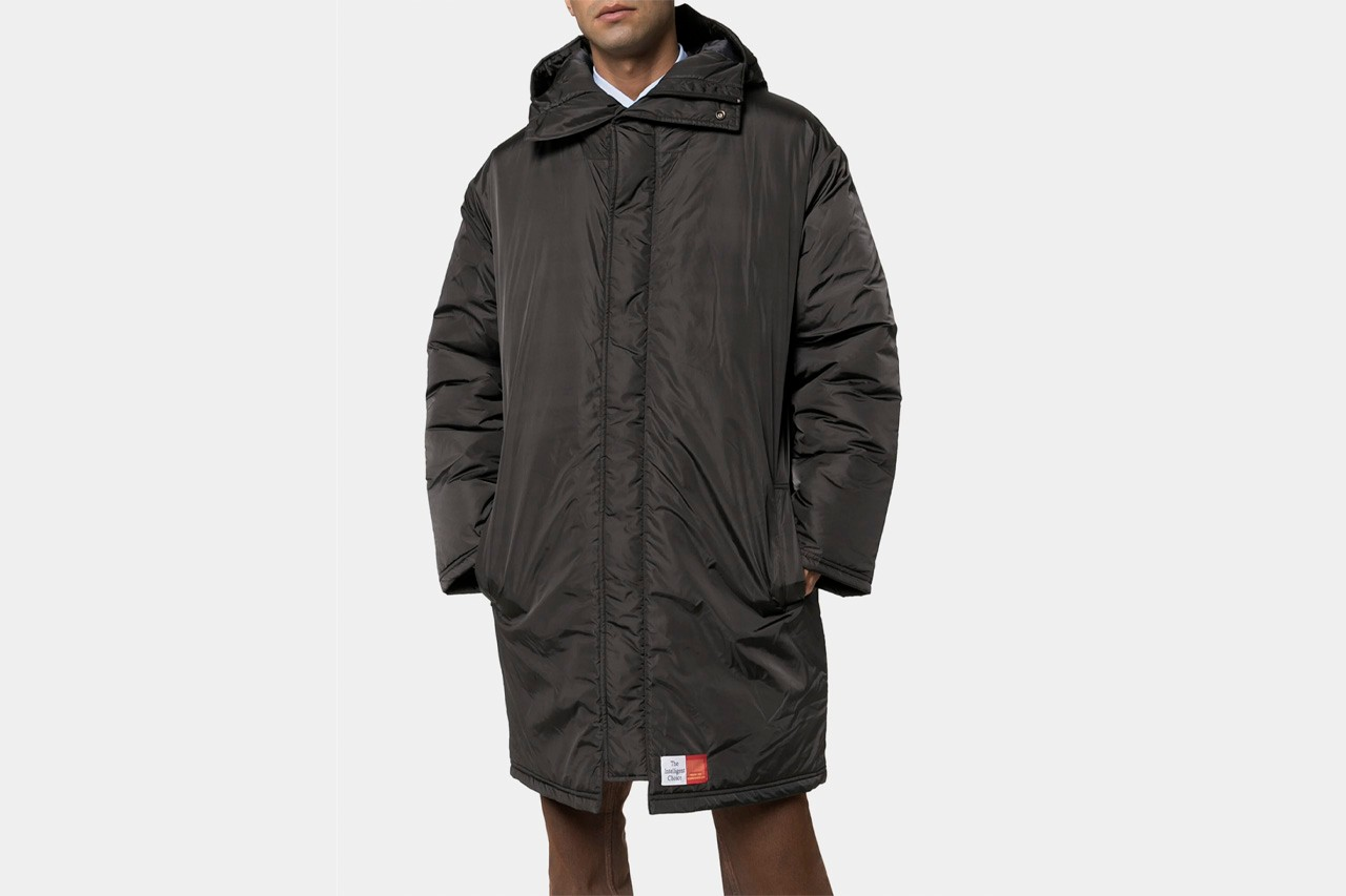 Ten Best Winter Coats Fall/Winter 2019 FW19 Round-Up Nike ACG Anorak The North Face Retro Denali Fleece A.P.C. New England Mac LC23 Burberry Check Vintage Our Legacy Walrus Puffa Jacket Stone Island Logo-Appliqued Quilted Hooded Down Acne Studios Double-Breasted Herringbone CoatMartine Rose Wenger Padded Nylon ParkaRaf Simons Mid-Length Patch