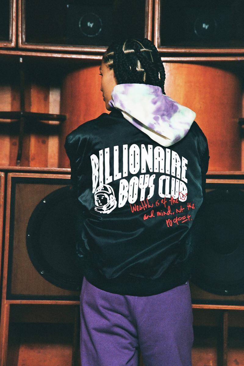 billionaire boys club bbc holiday 2019 collection release date info photos sweatshirt jacket t shirt lookbook fw19