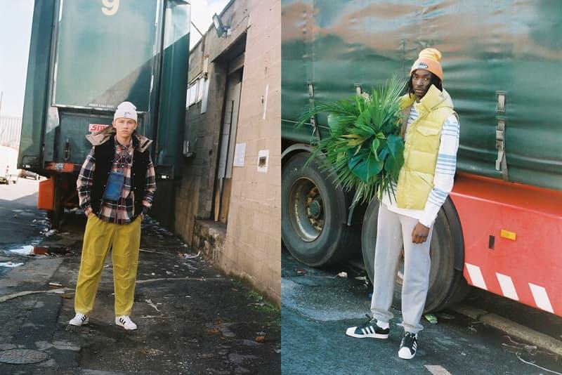 Billionaire Boys Club EU Pre-Spring 2020 Lookbook Vests Jackets Pants Blue Green Yellow Black Hoodies Hats Sweatsuits Beanies Shorts Denim