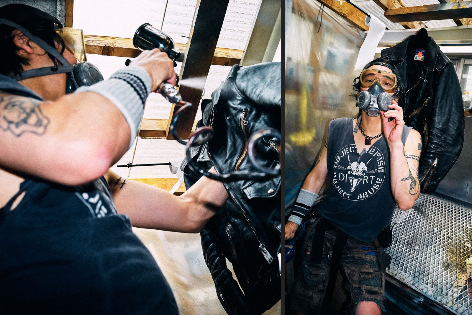 yujiro komatsu blackmeans japan tokyo leather digital cover interview punk