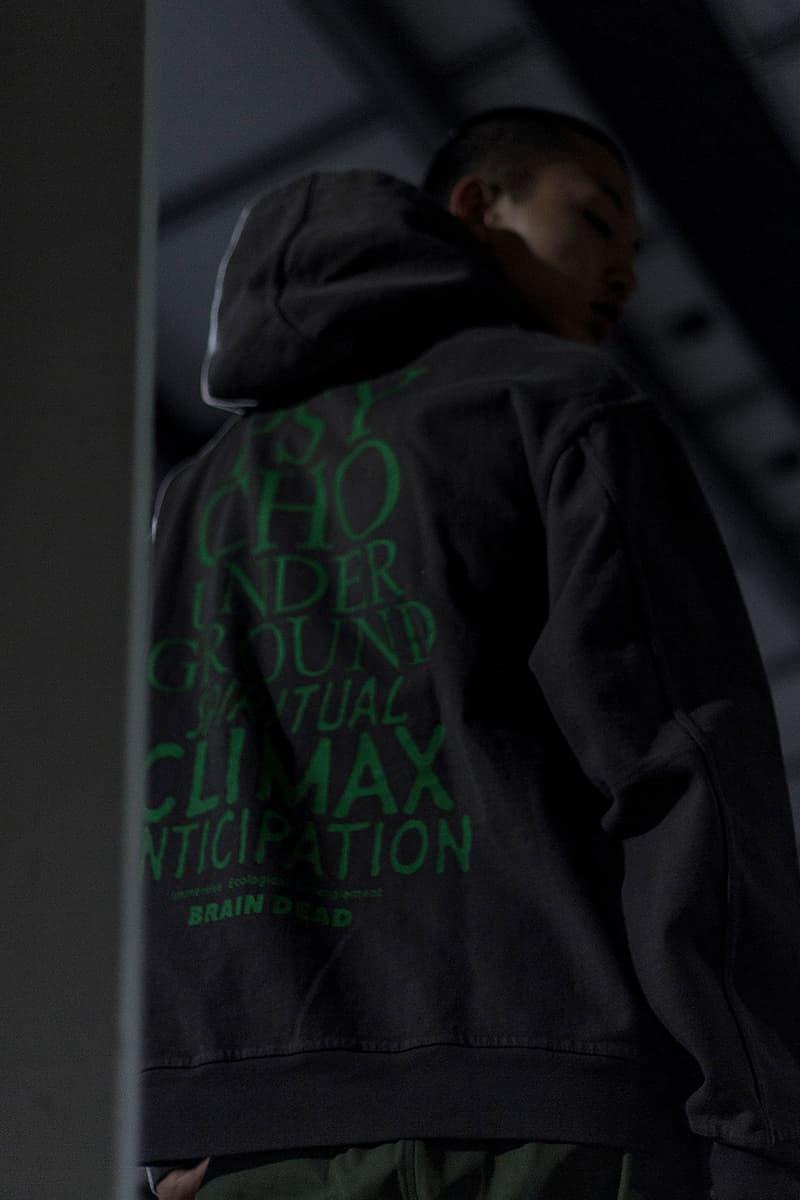 "Blends ""STUCK"" Fall Winter 2019 FW19 Editorial Outerwear Utilitarian Los Angeles Lookbooks Stüssy Brain Dead The North Face FUTUR Jackets"