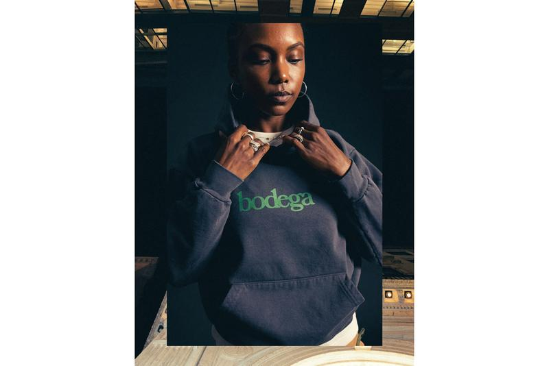 Bodega Fall/Winter 2019 Collection Lookbook First Drop Hoodies Shirts T-shirts Thermals Vests Pullovers Jerseys Knits Sherpa Fleece Corduroy Rose Blue Orange Red Maroon Green Purple White Black